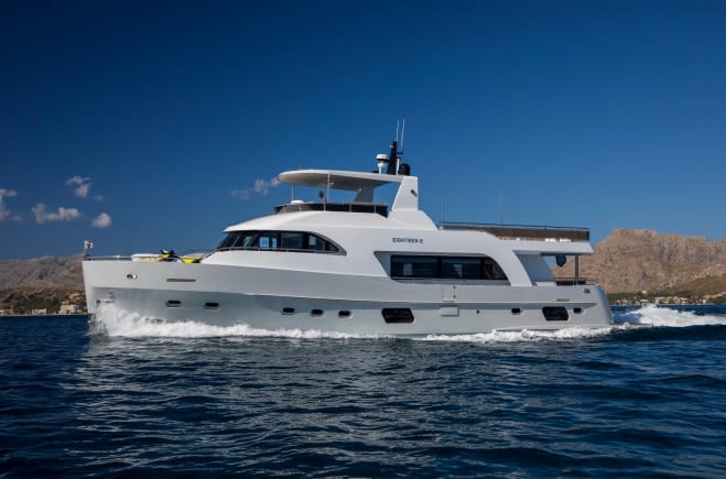 EIGHTEEN TWO Luxury Yacht for Sale