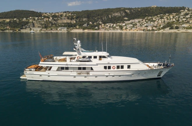 Моторная яхта Fiorente | Ferronavale