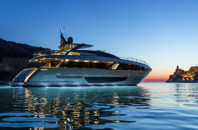 RIVA 100 CORSARO Luxury Yacht for Sale