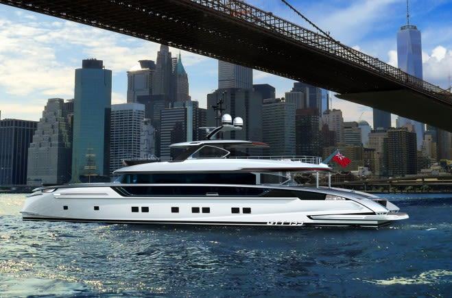 GTT 135 Luxury Yacht for Sale