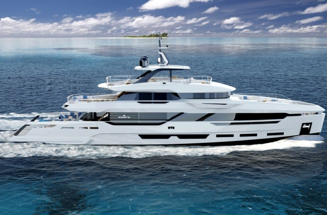 DOM 133 Luxury Yacht for Sale