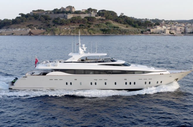 Моторная яхта M | Maiora