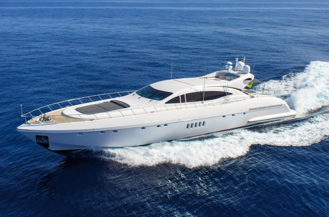 Моторная яхта FOUR FRIENDS | Mangusta (Overmarine)