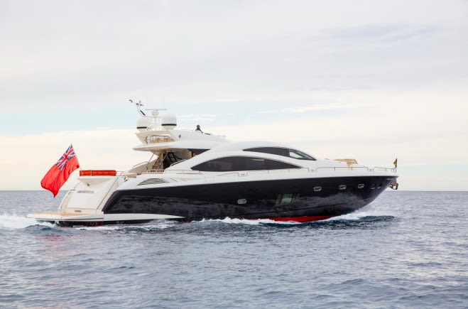 Firecracker Yacht Charter | Sunseeker