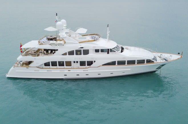 Aura Yacht Charter | Benetti