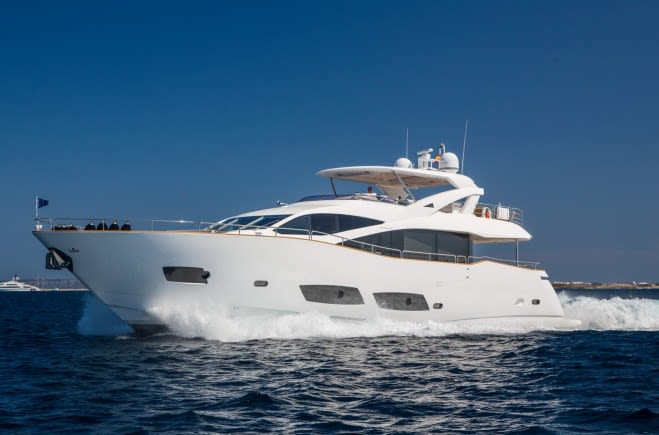 Play the Game Yacht Charter | Sunseeker