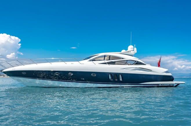 Rehab Yacht Charter | Sunseeker