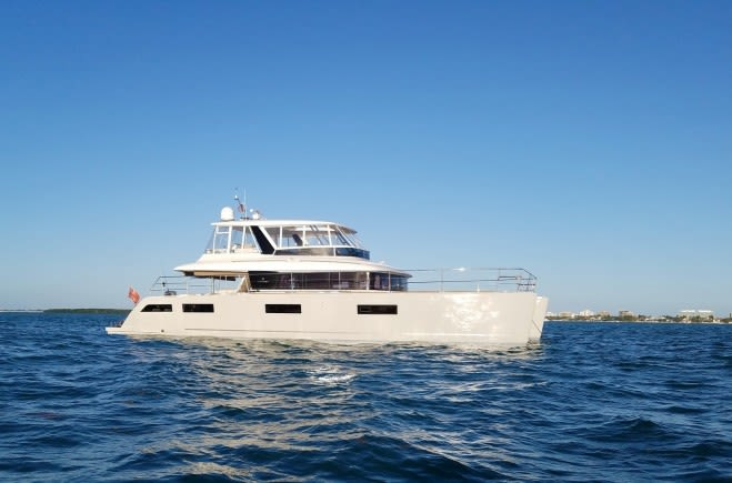 LONG MONDAY Yacht Charter | Lagoon