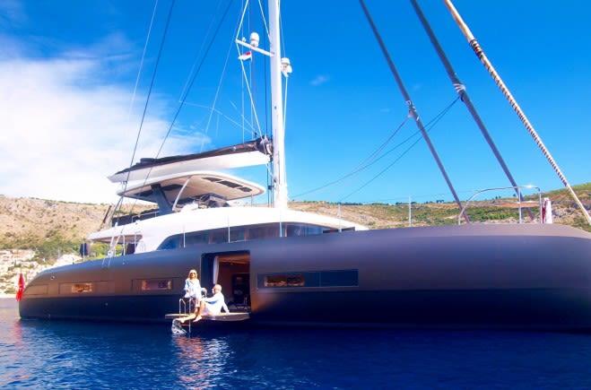 Моторная яхта LA GATTA | Lagoon