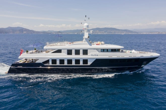 Моторная яхта CLICIA | Baglietto