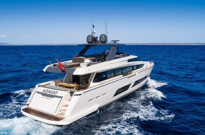 Be One Yacht Charter   Ferretti