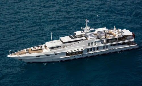 Яхта OCEANA предлагается к продаже.