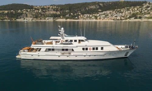 Яхта FIORENTE – итальянская классика всегда в цене.