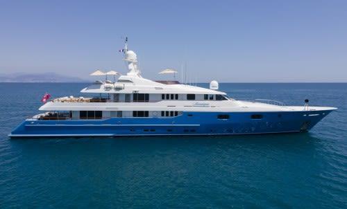 Яхта Mosaique - истинным ценителям роскоши.
