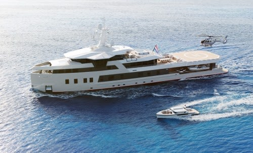 Будет ли новая яхта SeaXplorer 60 похожа на La Datcha?