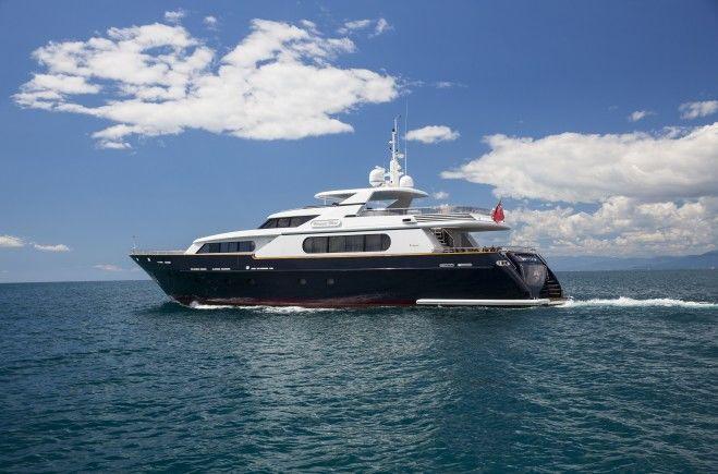 Princess Elena Luxury Yacht for Sale
