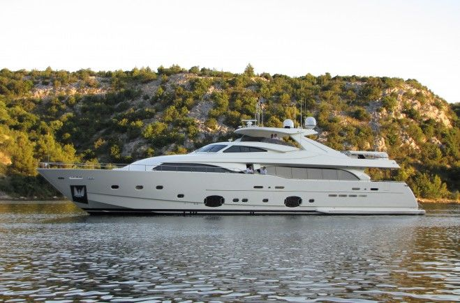 Custom Line 112 Next Luxury Yacht for Sale
