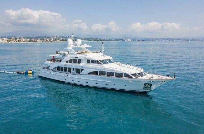 Aura Luxury Yacht for Sale