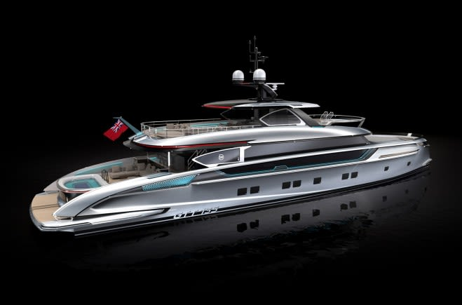GTT 135 Luxury Yacht for Sale