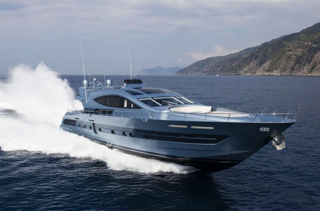 CCN 102' FlyingSport Luxury Yacht for Sale