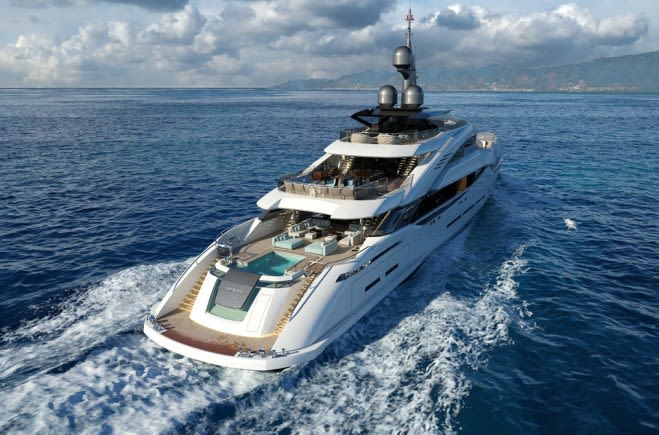 ISA GRANTURISMO 67 Luxury Superyacht for Sale