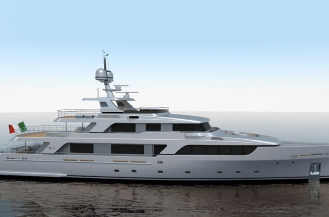 Codecasa 43m Luxury Yacht for Sale