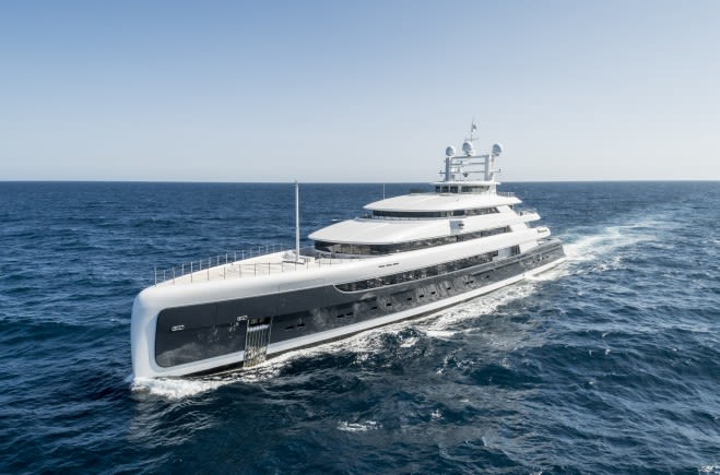 Illusion Plus Luxury Superyacht for Sale