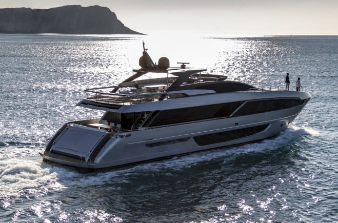 Riva 100 Corsaro Luxury Yacht for Sale