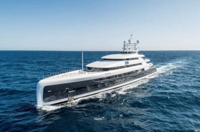 ILLUSION PLUS Luxury Superyacht for Sale