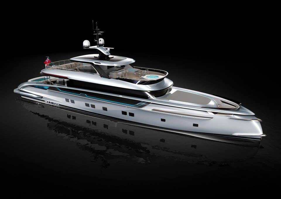 M/Y GTT 135 Yacht #3