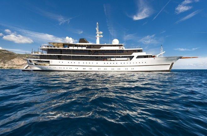 Chakra Superyacht Charter