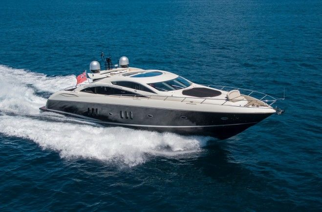 Exceso Yacht Charter | Sunseeker