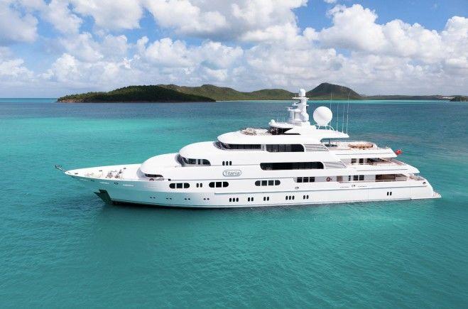 Titania Superyacht Charter