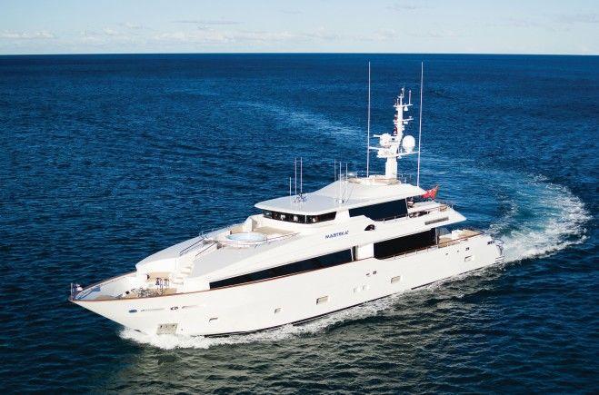 Masteka 2 Yacht Charter | Kha Shing