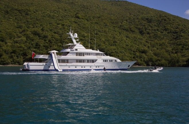 Teleost Yacht Charter | Feadship