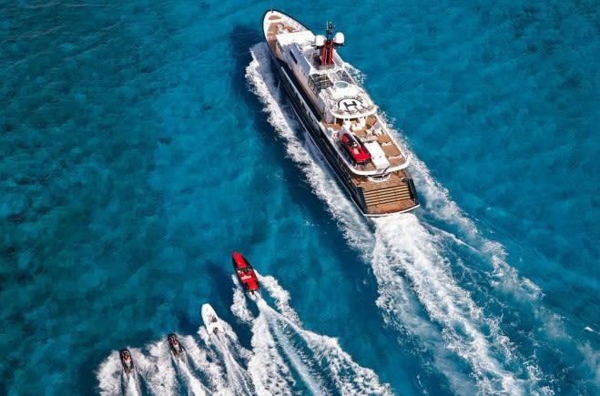 M/Y Highlander Yacht #12