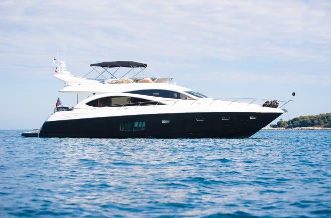 Lazy P Yacht Charter | Sunseeker