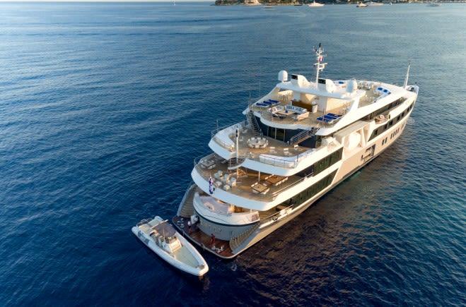 Serenity Yacht Charter | Austal Ships