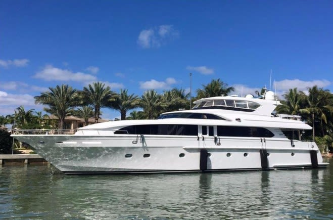 Outta Touch Yacht Charter | Intermarine