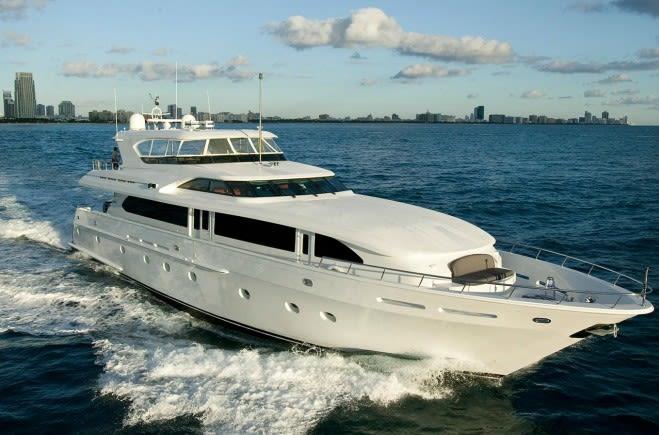 Outta Touch Yacht Charter | Intermarine
