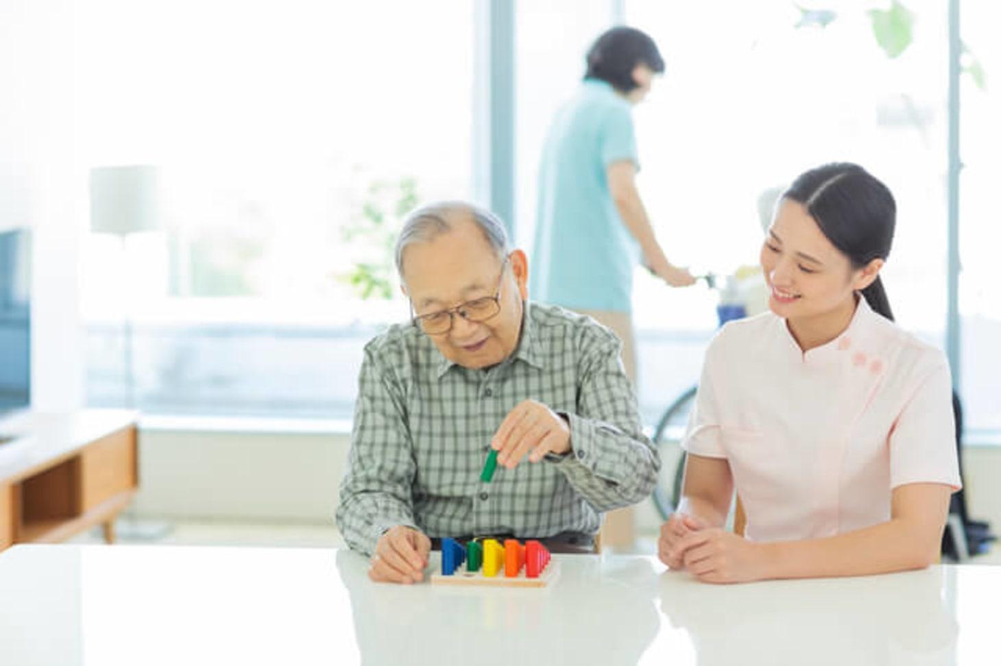 介護老人保健施設(老健)で働く作業療法士の仕事とは