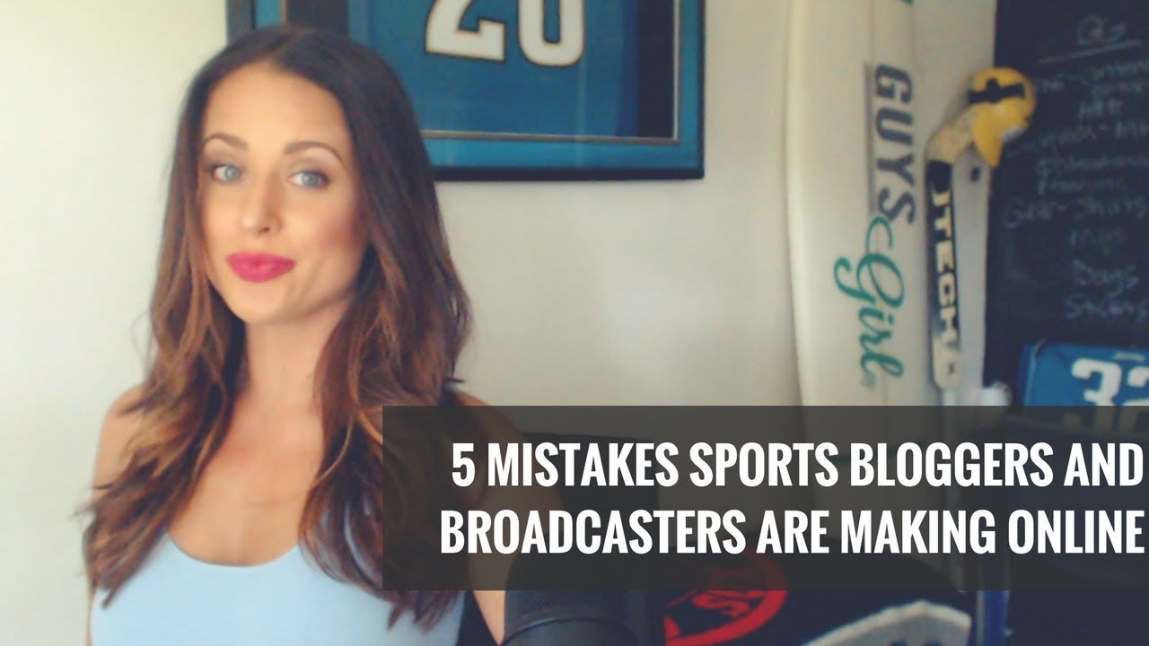 5 Huge Mistakes Bloggers and Broadcasters Make Online