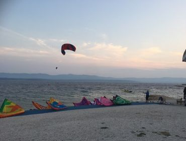 Kroatien Bol Kitebeach: Kitesurf Spot