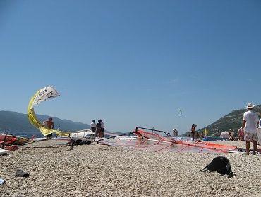 Kroatien Viganj Perna: Kitesurf- und Windsurf Spot