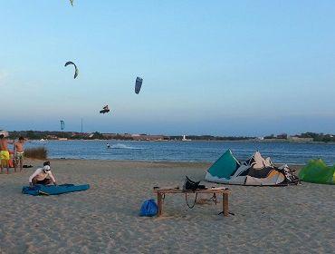 Kroatien Nin: Kitesurf- und Windsurf Spot