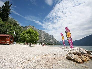 Gardasee Limone: Kitesurf- und Windsurf Spot