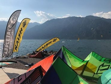 Gardasee Navene: Kitesurf und Windsurf Spot