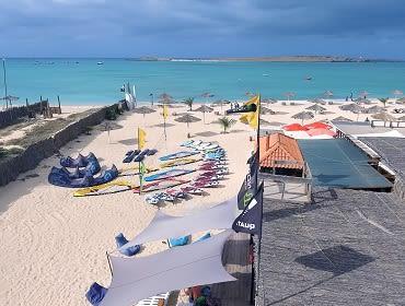 Boavista (Sal Rei): Kitesurf- und Windsurf Spot
