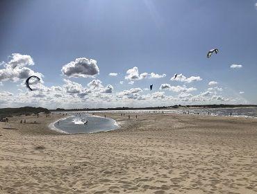 Cadzand-Bad: Kite- und Windsurfspot