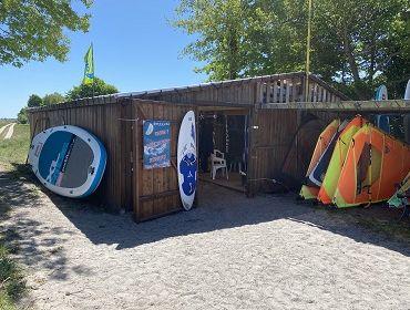 Darß (Zingst Ost): Kitesurf- und Windsurfspot